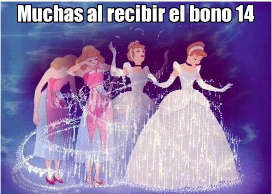 "En Twitter los ""memes"" sobre el Bono 14 se comparten. (Foto: Twitter)"
