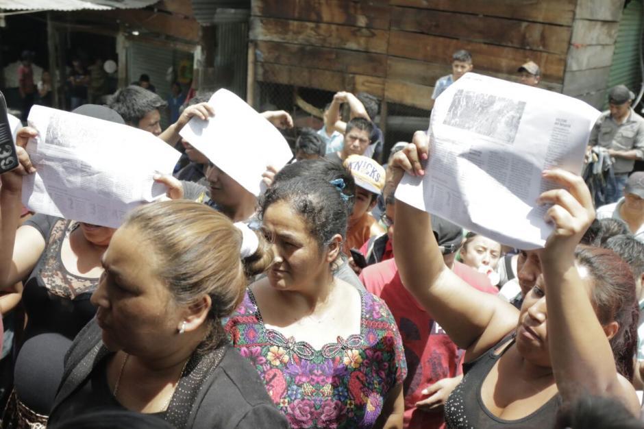 Los vendedores se oponen al pago de impuestos. (Foto: Alejandro Balán/Soy502)
