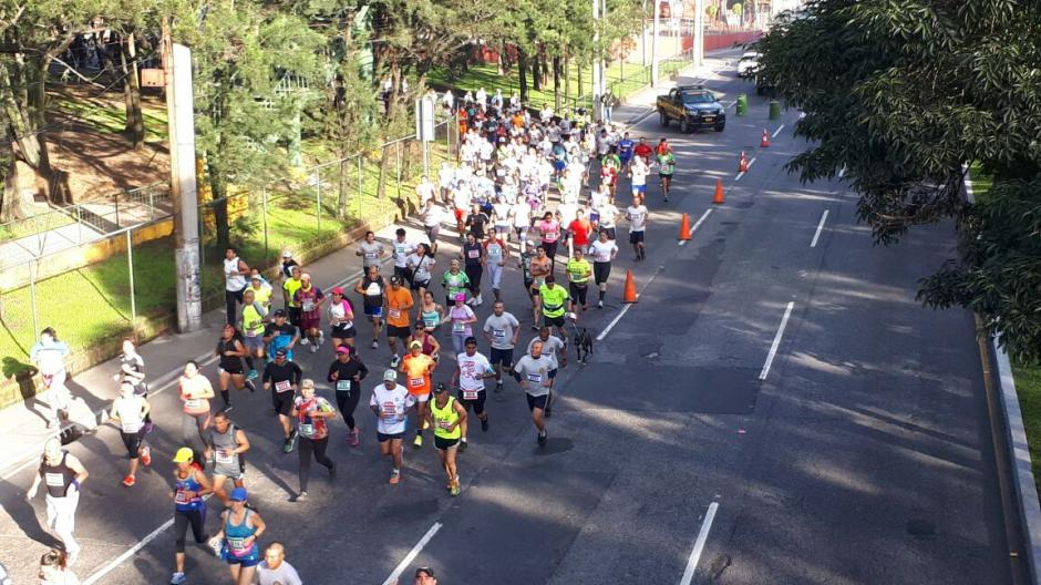Los competidores corrieron por varias zonas de la capital. (Foto: PNC)