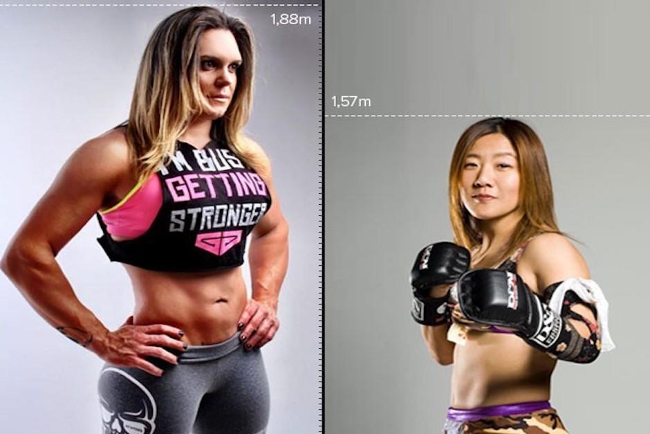 Ella es Gabrielle García, la luchadora de MMA más grande del mundo