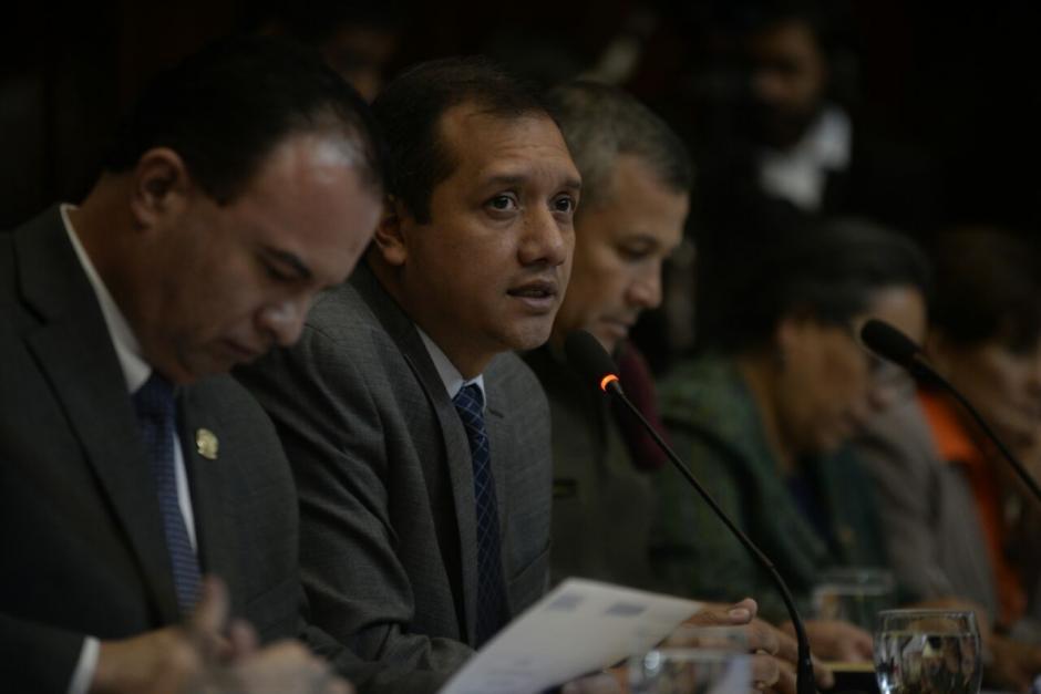 El ministro de Gobernación considera que el 80% de las plantaciones de amapola ha sido erradicado. (Foto: Wilder López/Soy502)