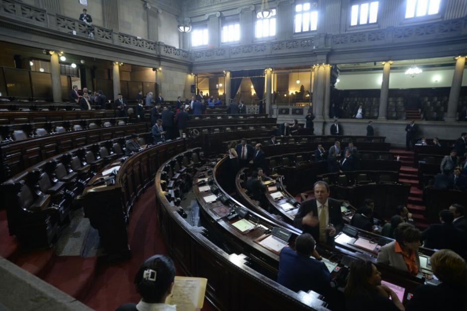 La sesión de este martes no tuvo avances. (Foto: Wilder López/Soy502)