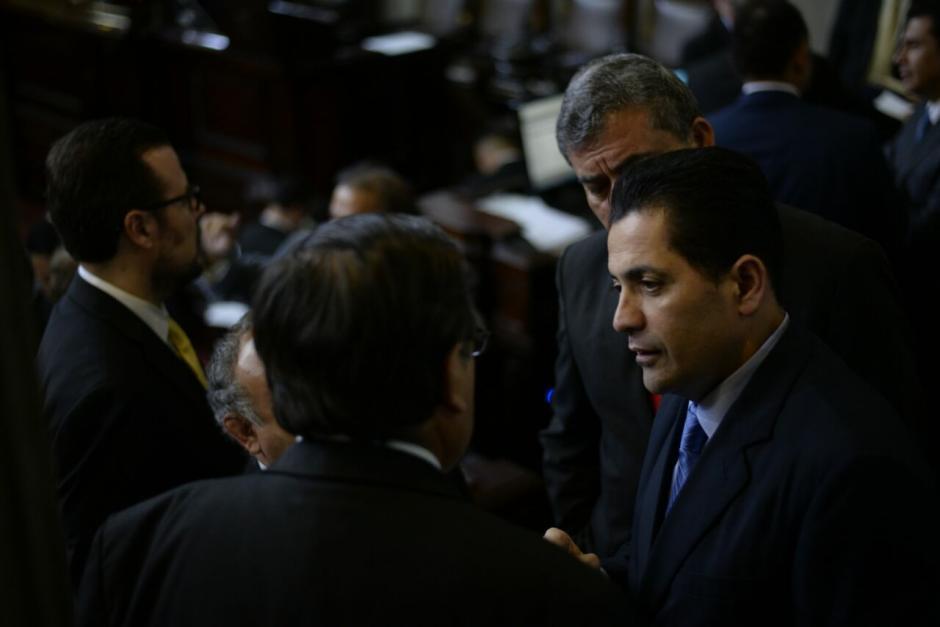 El presidente del Congreso reconoce que un diputado le externó la molestia. (Foto: Wilder López/Soy502)