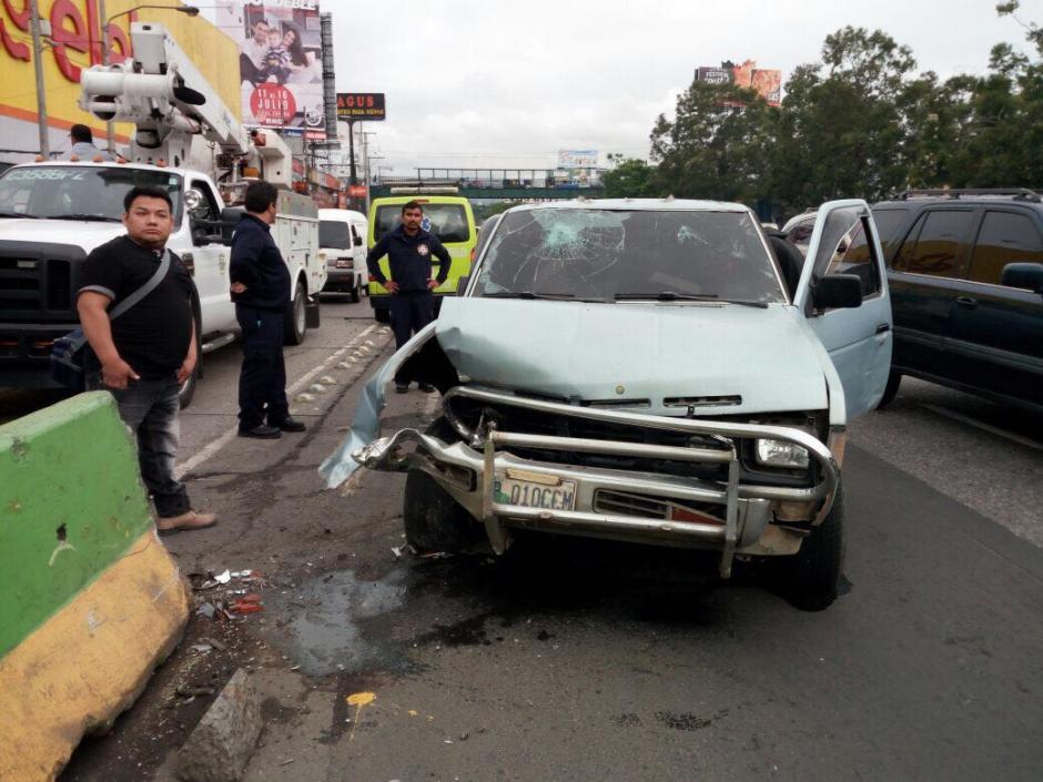 Las autoridades y bomberos intentaron atenderlo. (Foto: Amílcar Montejo/PMT)