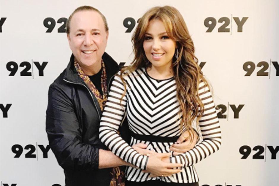 Thalía: Tommy Mottola comparte controversial foto de la cantante