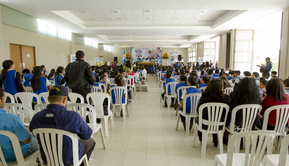 Así lucía el Salón Majadas en la presentación de El Chispazo. (Foto: George Rojas/Soy502)