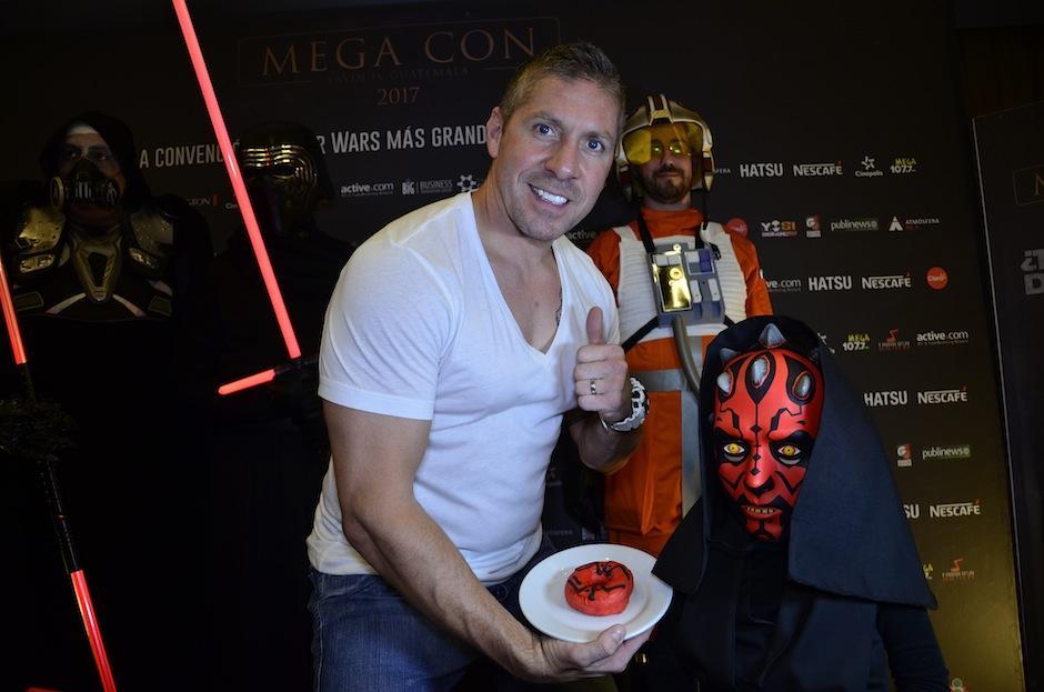 """Ray Park, actor que da vida a """"Darth Maul"""" en Star Wars está en Guatemala. (Foto: Selene Mejía/Soy502)"""
