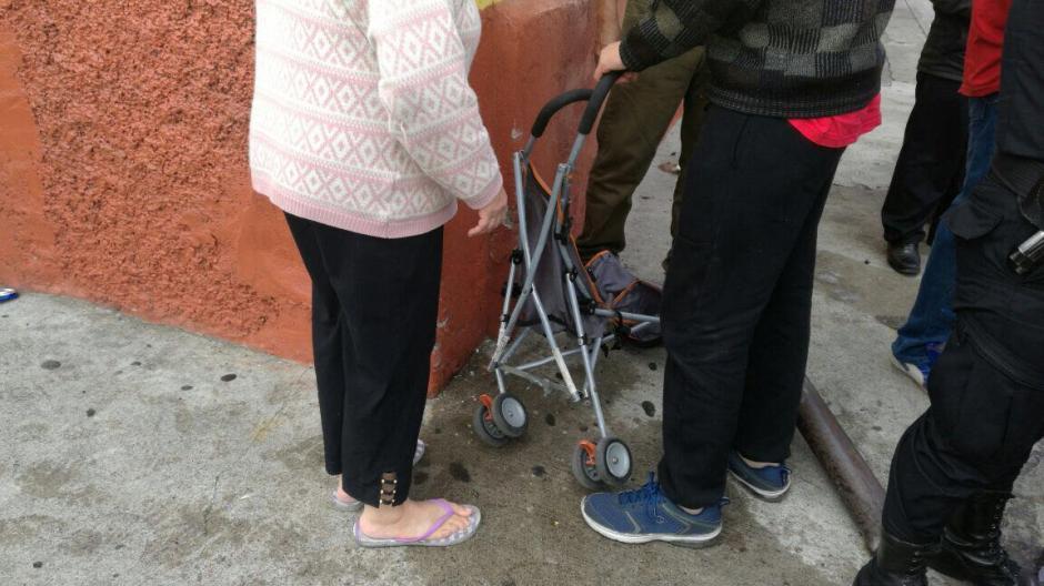 El bebé y la mujer salieron ilesos. (Foto: Amilcar Montejo/PMT)