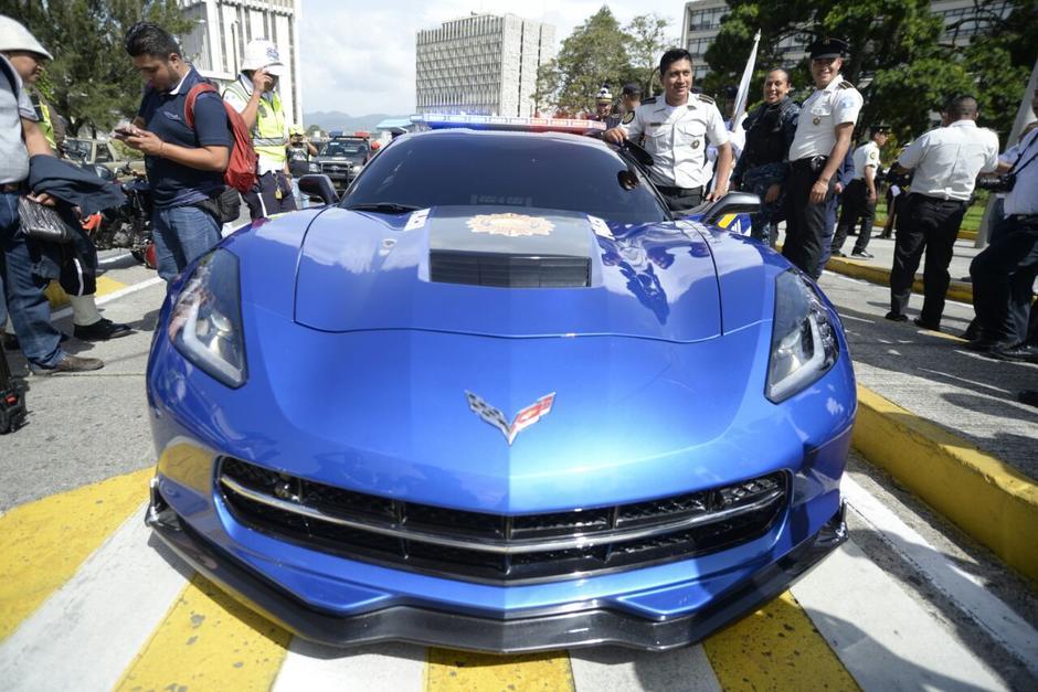 El auto será usado para patrullajes nocturnos. (Foto: Wilder López/Soy502)