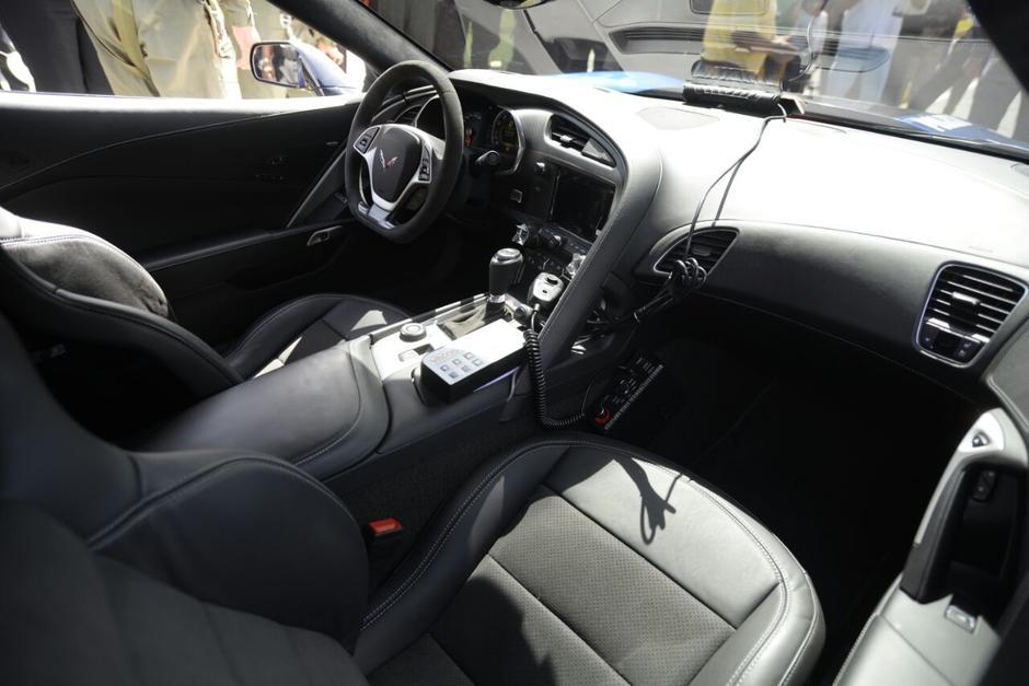 Así se ve por dentro el lujoso vehículo. (Foto: Wilder López/Soy502)