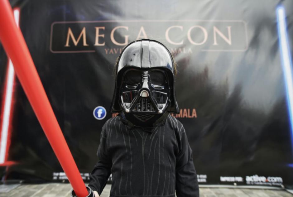 Decenas de niños lucieron disfraces de los distintos personajes de Star Wars. (Foto: Wilder López/Soy502)