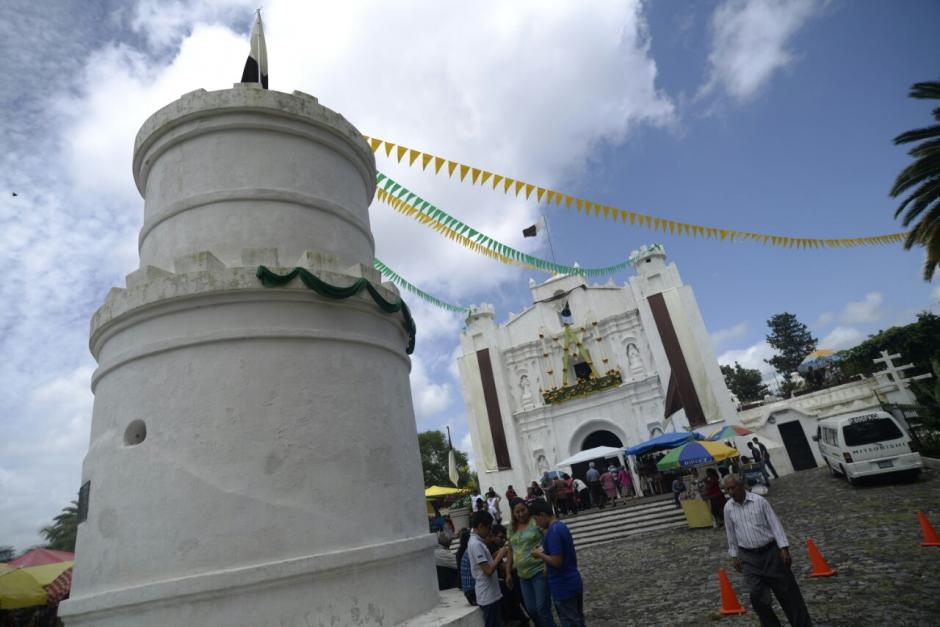 La iglesia se encuentra arriba de un cerro en la zona 1. (Foto: Wilder López/Soy502)