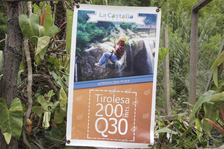 También puedes practicar rápel es otra de las actividades que puedes encontrar en el lugar. (Foto: Fredy Hernández/Soy502)