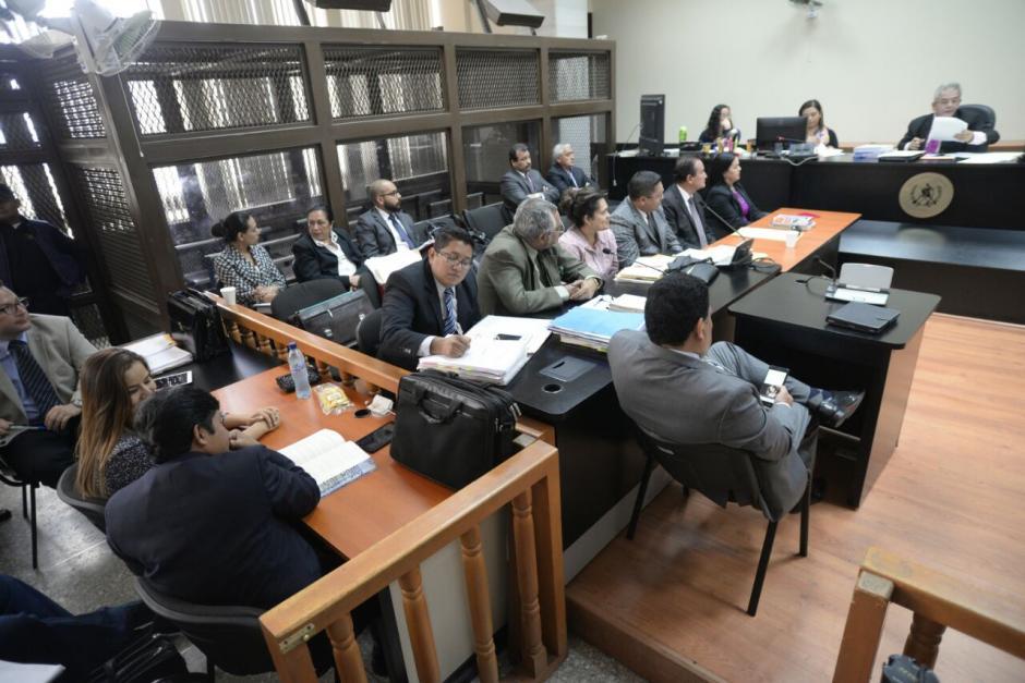 Más de 30 sindicados están acusados en el caso La Línea. (Foto: Wilder López/Soy502)
