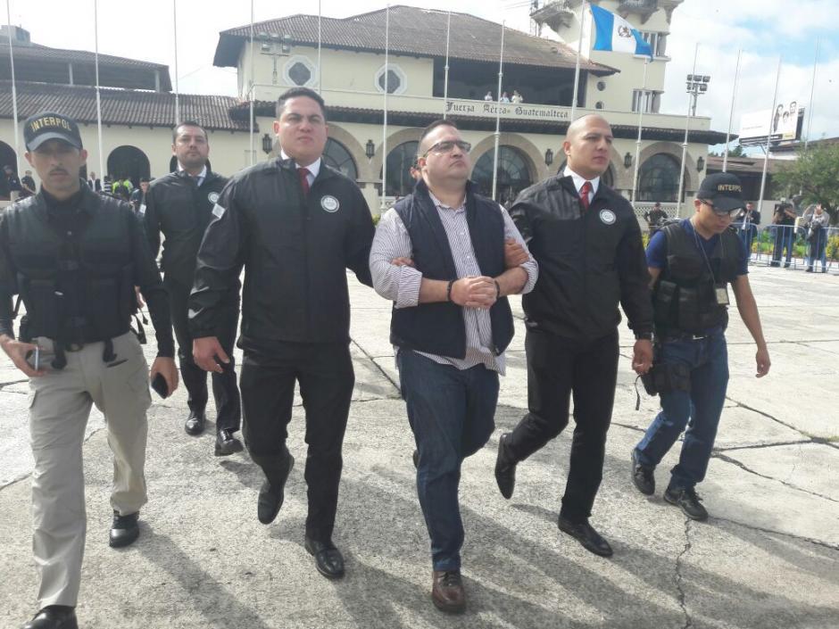 El mexicano es requerido por la justicia de su país por corrupción. (Foto: Mingob)