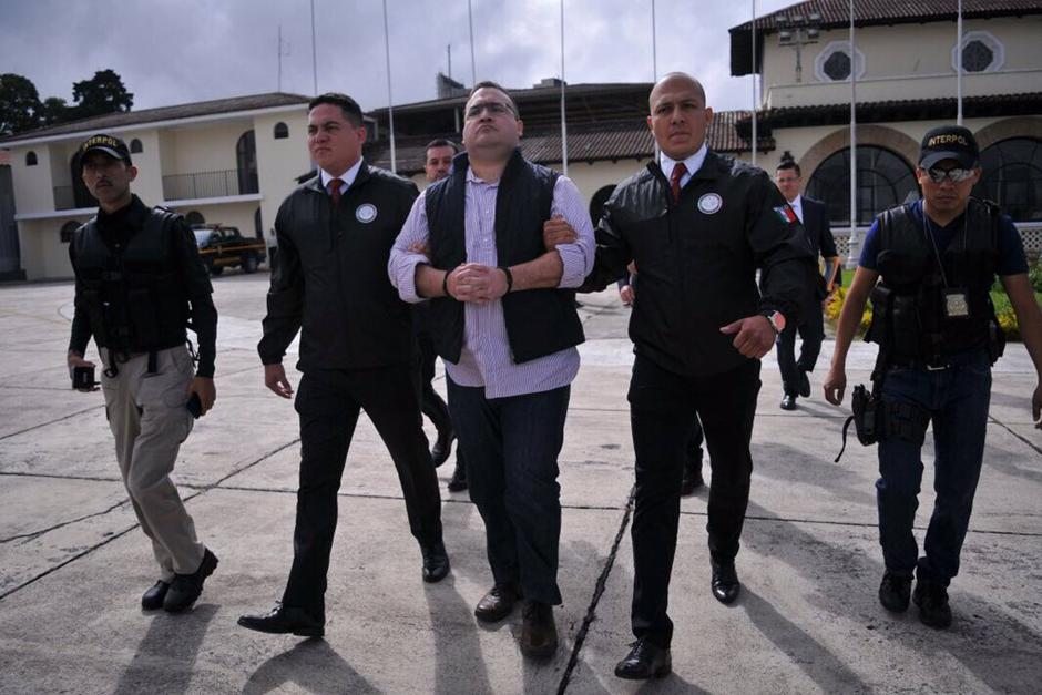 Las autoridades extraditaron a Javier Duarte. (Foto: MinGob)