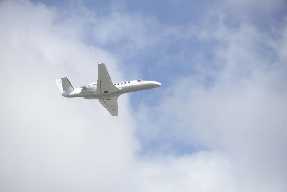 El exgobernador mexicano fue trasladado vía aérea hacia su país. (Foto: Wilder López/Soy502)