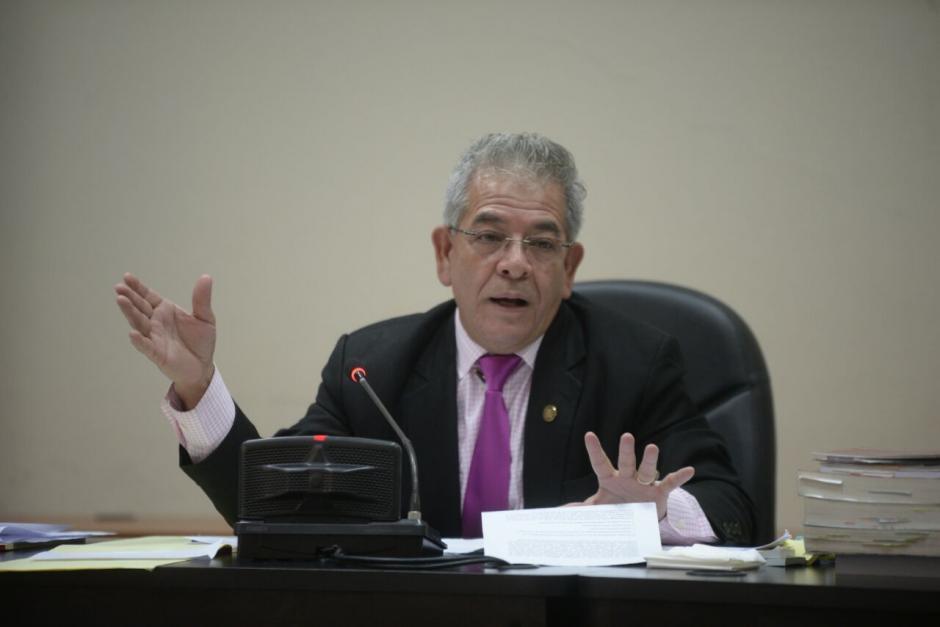 El juez Miguel Ángel Gálvez resolvió que Baldetti debe ser hospitalizada y suspendió la audiencia de etapa intermedia. (Foto: Wilder López/Soy502)