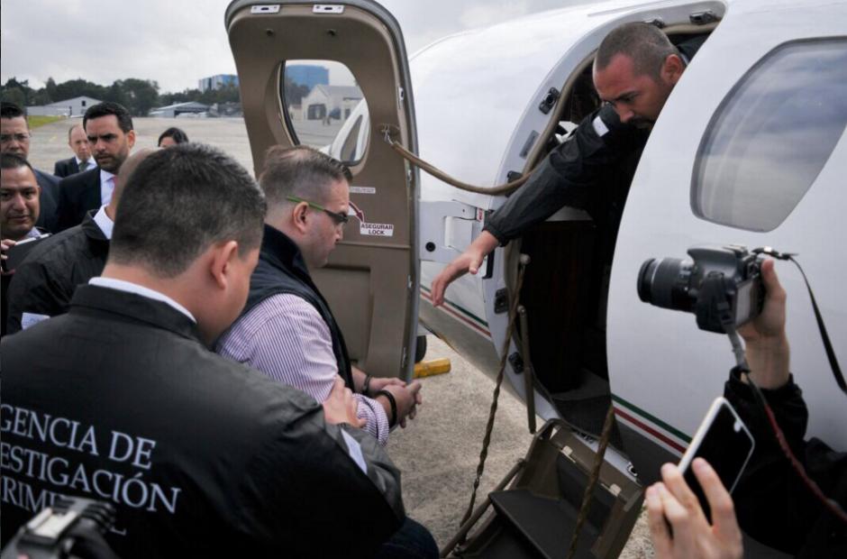 Javier Duarte fue extraditado a México. (Foto: Mingob)