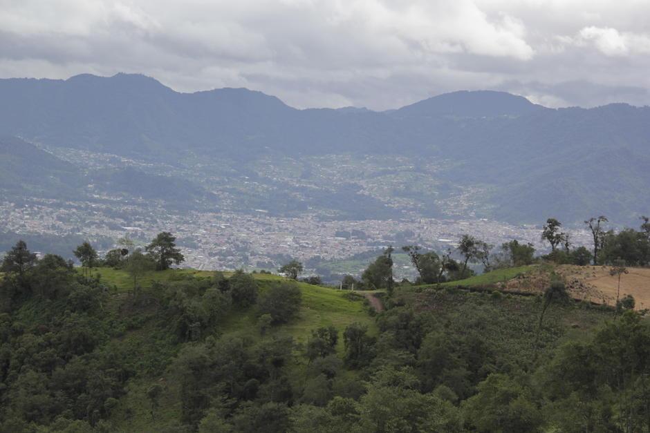 Desde el mirador de Esquipulas Palo Gordo se tiene una amplia vista de la zona. (Foto: Fredy Hernández/Soy502)