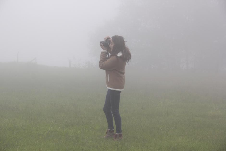 La nubosidad es normal en el parque municipal Sendero del Búho. (Foto: Fredy Hernández/Soy502)