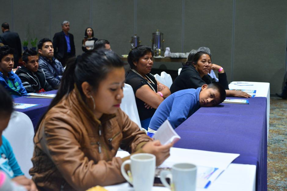 Menores también participaron en el evento junto a sus madres. (Foto: Jesús Alfonso/Soy502)