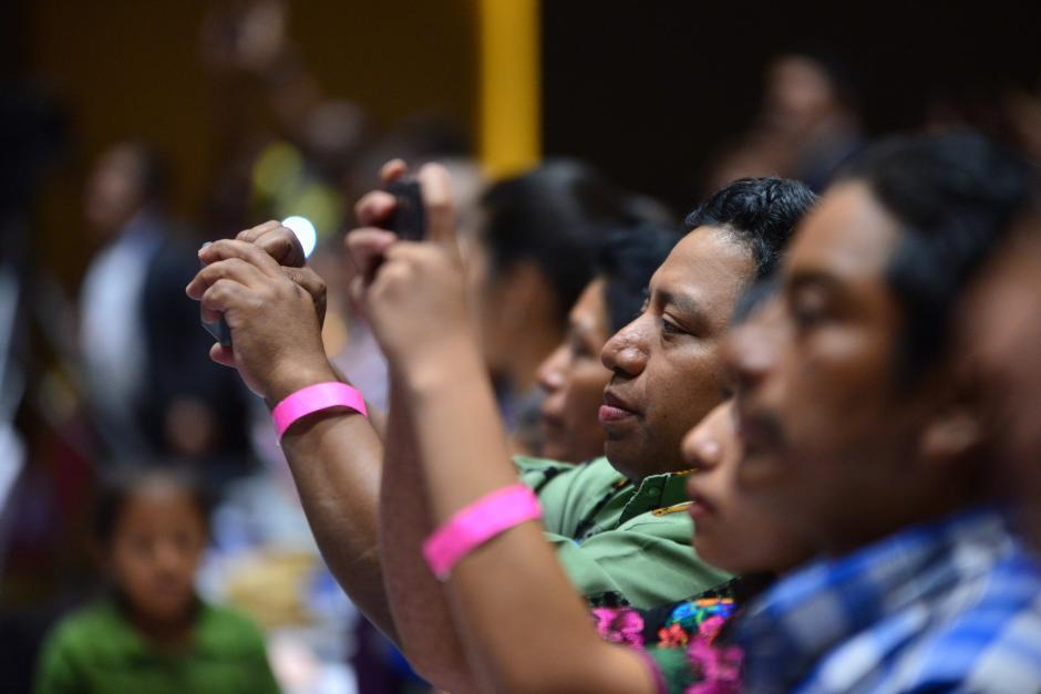 Familias de diferentes departamentos fueron invitadas a la capital. (Foto: Jesús Alfonso/Soy502)