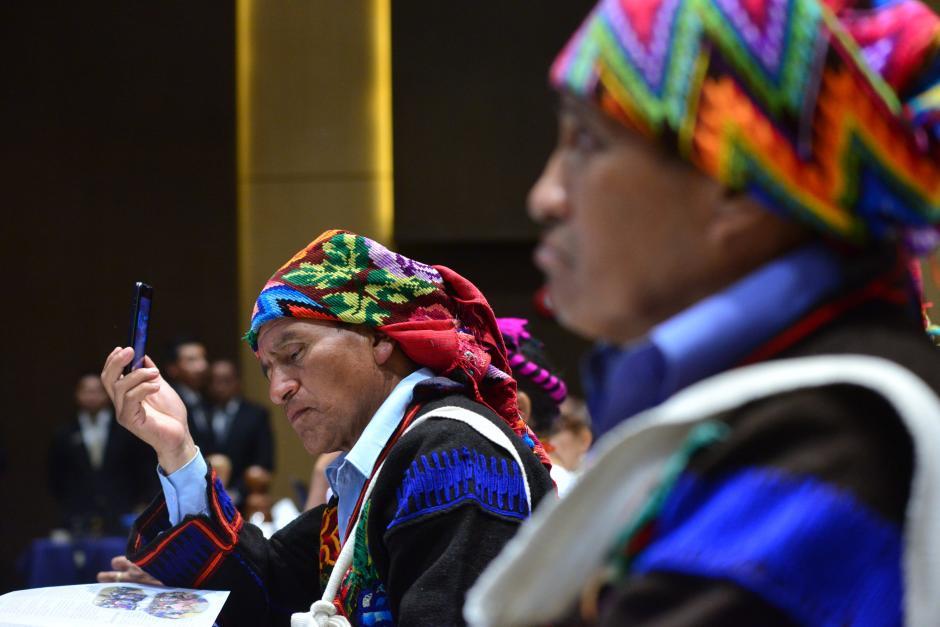 Diversas comunidades participaron en el evento de presentación de la Guía Básica. Foto: Jesús Alfonso/Soy502)