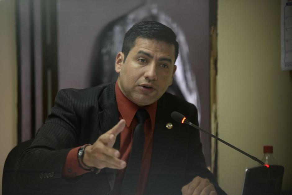 El juez Carlos Guerra está a cargo del proceso penal. (Foto: Wilder López/Soy502)