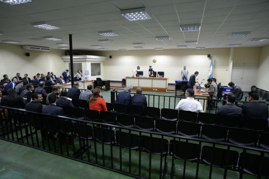 La audiencia no pudo comenzar debido a dos nuevas capturas. (Foto: Wilder López/Soy502)