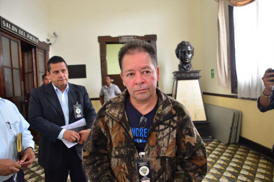 José Antonio Coronado fue reinstalado y desistió de la denuncia contra el ministro. (Foto: Jesús Alfonso/Soy502)
