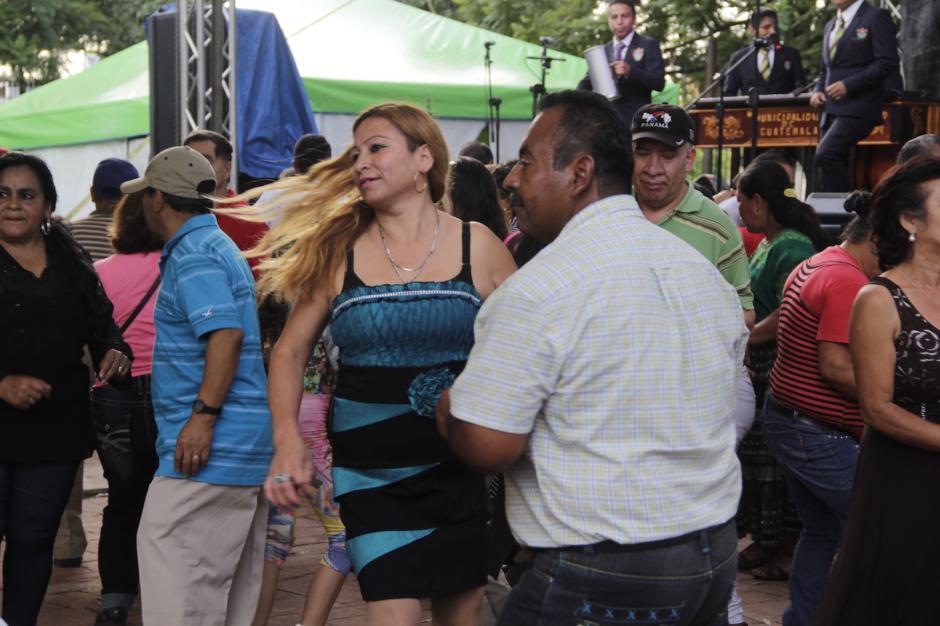 Las actividades musicales no pueden pasar desapercibidas en la feria. (Foto: Fredy Hernández/Soy502)