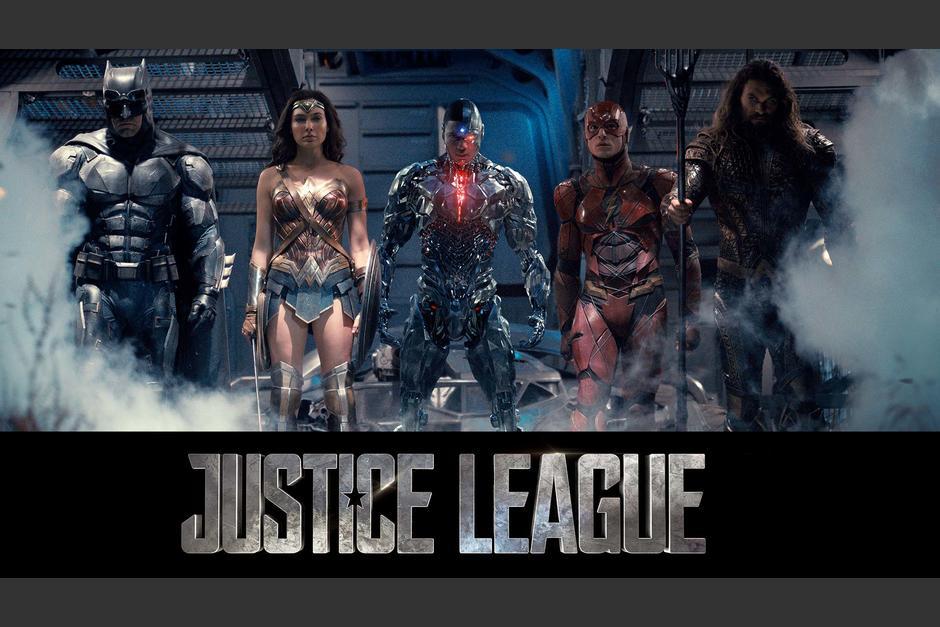 """""""La Liga de la Justicia"""" llegará a la pantalla grande el 17 de noviembre. (Foto:DC Comics)"""
