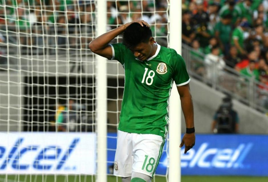 La Selección de México volvió a sufrir una desilusión en la Copa Oro. (Foto: AFP)
