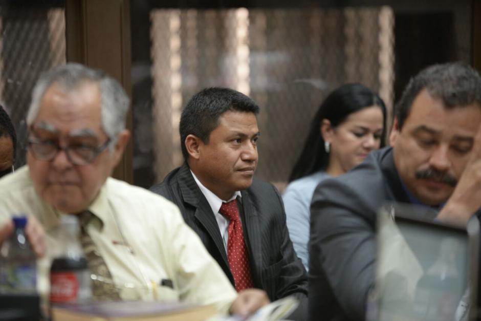 Hoy fue la primera aparición oficial como abogado defensor de Baldetti. (Foto: Wilder López/Soy502)