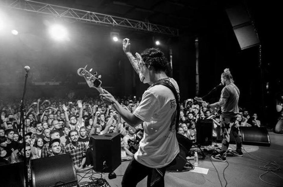 """La agrupación mantiene vivo el estilo """"grunge"""". (Foto: Nicole Lemberg)"""