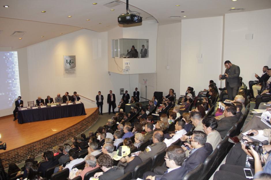 La inauguración del evento se llevó a cabo en la Universidad del Valle. (Foto: Fredy Hernández/Soy502)