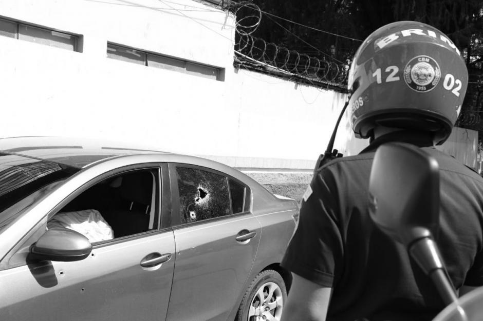 El abogado José Manuel Andrino Rodríguez murió durante un ataque armado en la zona 11. (Foto: Bomberos Municipales)