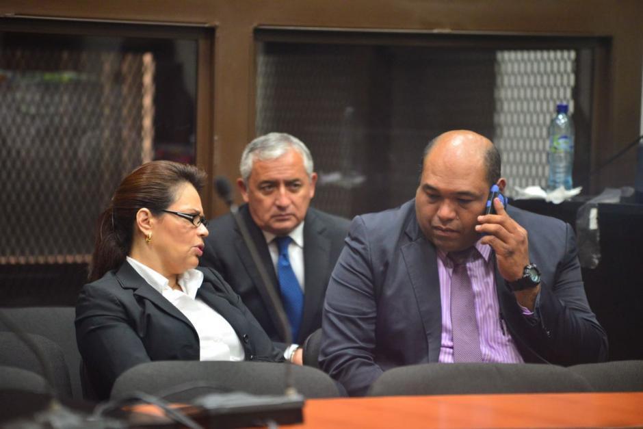 Antes de Juventino Mendoza, el abogado que acompañaba a Baldetti era Benjamín Estrada. (Foto: Archivo/Soy502)