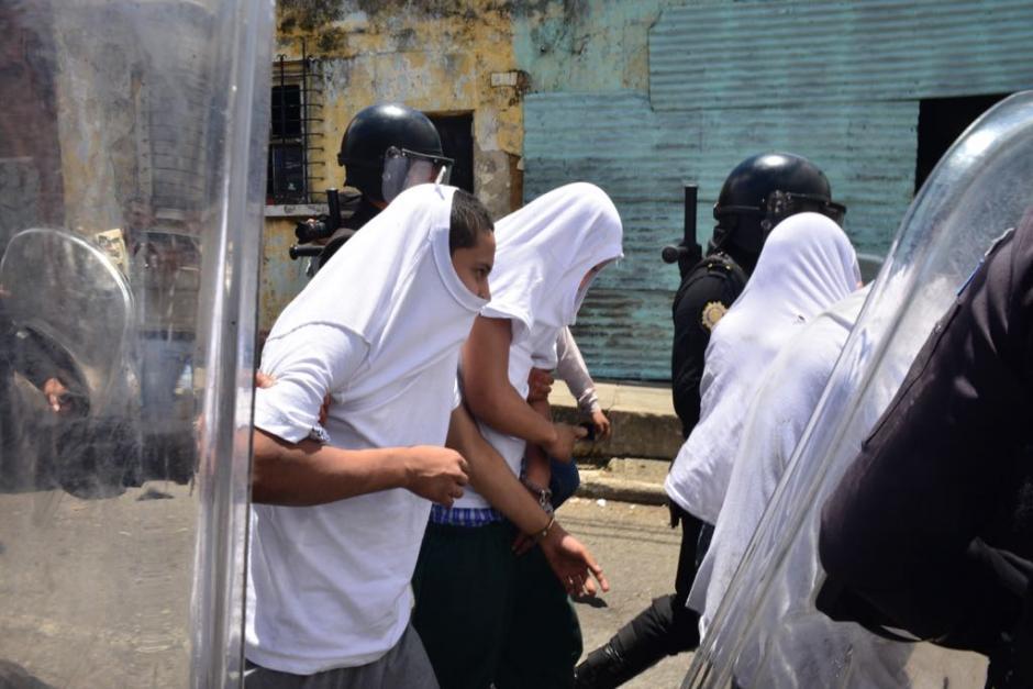 Catorce jóvenes resultaron heridos. (Foto: Jesús Alfonso/Soy502)