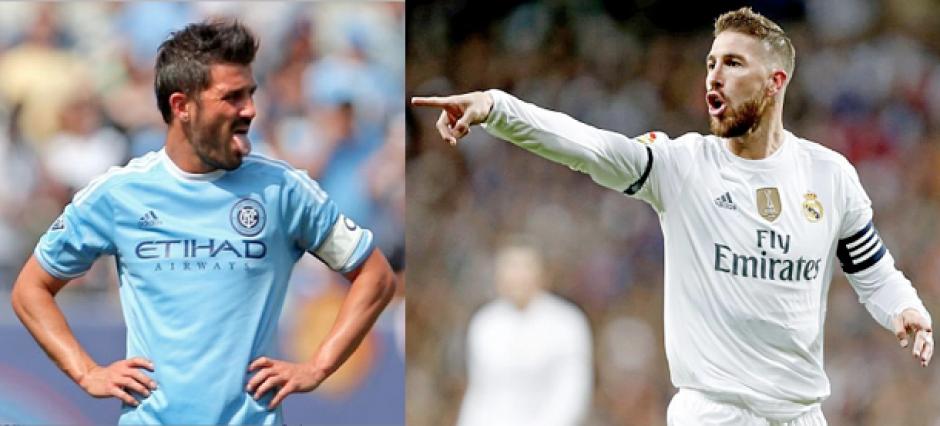 Villa y Ramos se retan por Twitter y aceptan el desafío