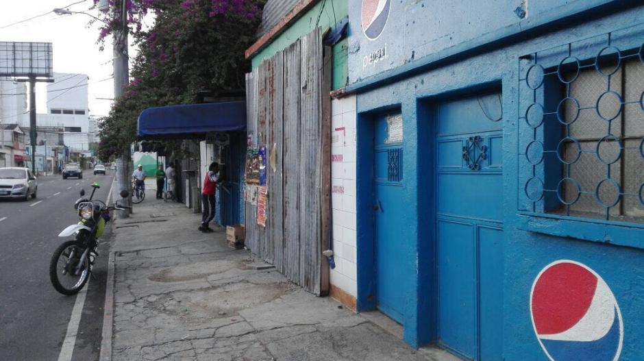 El lugar es una vía rápida en la zona 10. (Foto: Amílcar Montejo/PMT)