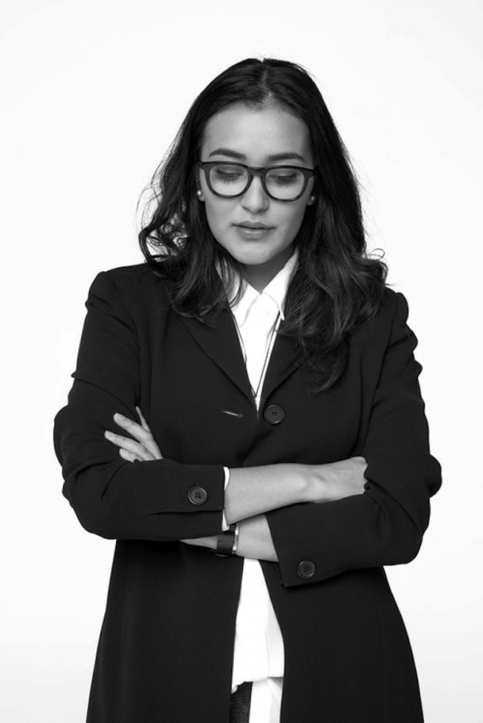 Sofía Contreras-Paredes de MEÜS diseña las siluetas. Foto: Manny Rionda)