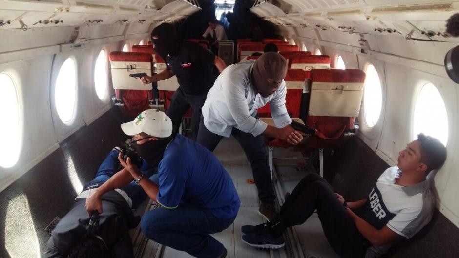 Una víctima murió en el interior del avión durante el simulacro. (Foto: DGAC)