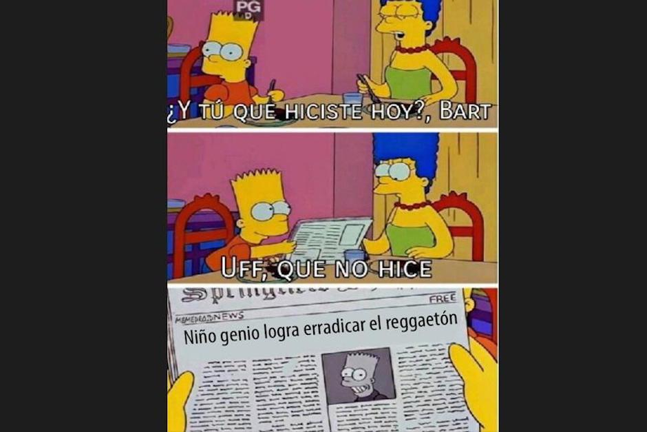 """No escuchas reggaeton, usa este """"meme"""" (Foto: Screenshot / peru.com)"""
