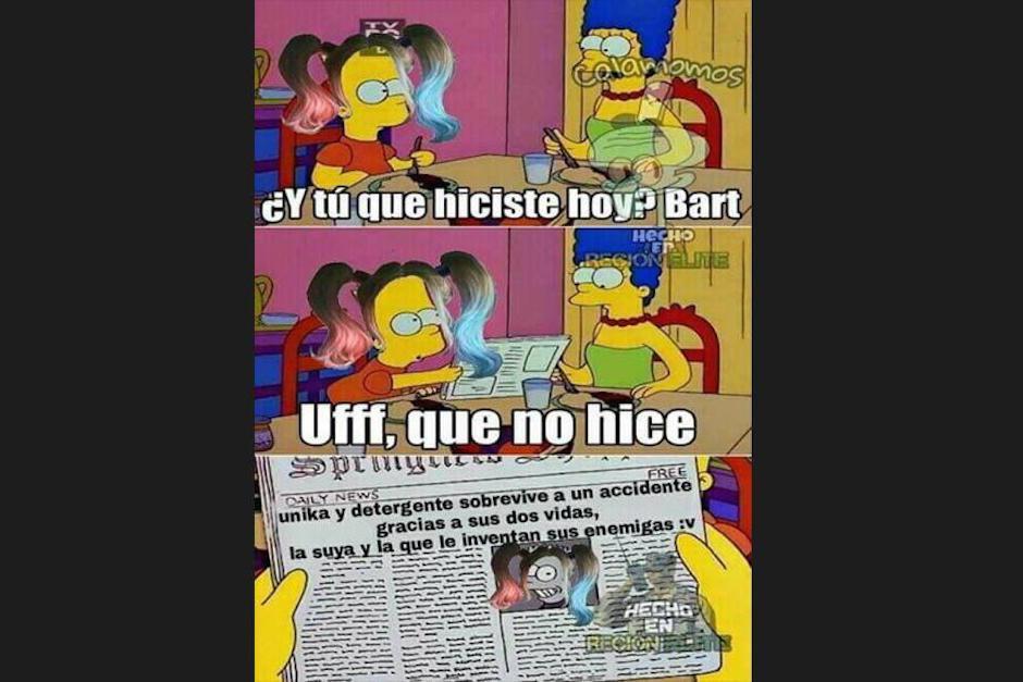 """Un cambio de look también es parte de los """"memes"""" (Foto: Screenshot / peru.com)"""