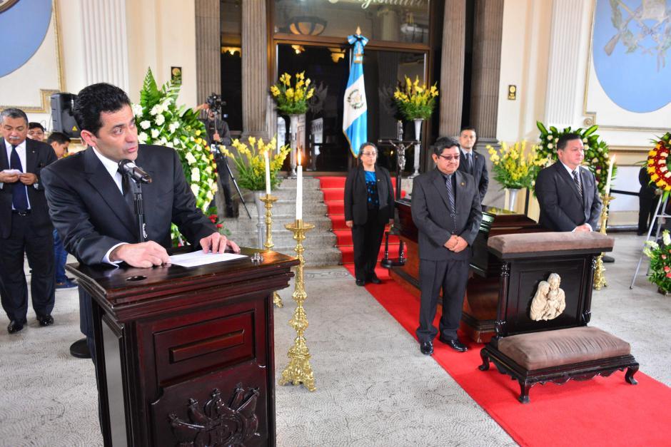 El presidente Óscar Chinchilla se mostró consternado con la noticia. (Foto: Jesús Alfonso/Soy502)