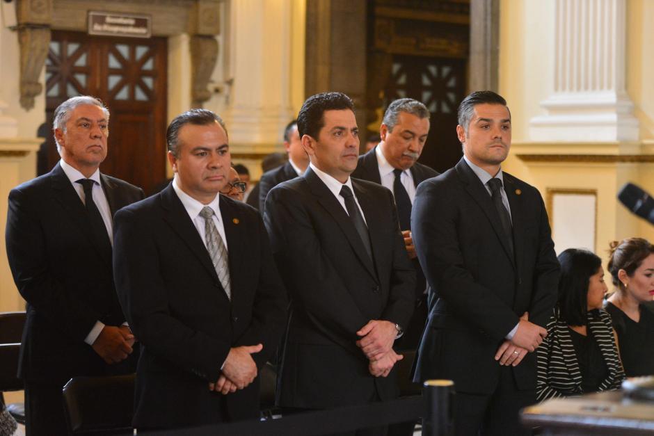 Destacó la escasa afluencia de parlamentarios en el acto. (Foto: Jesús Alfonso/Soy502)