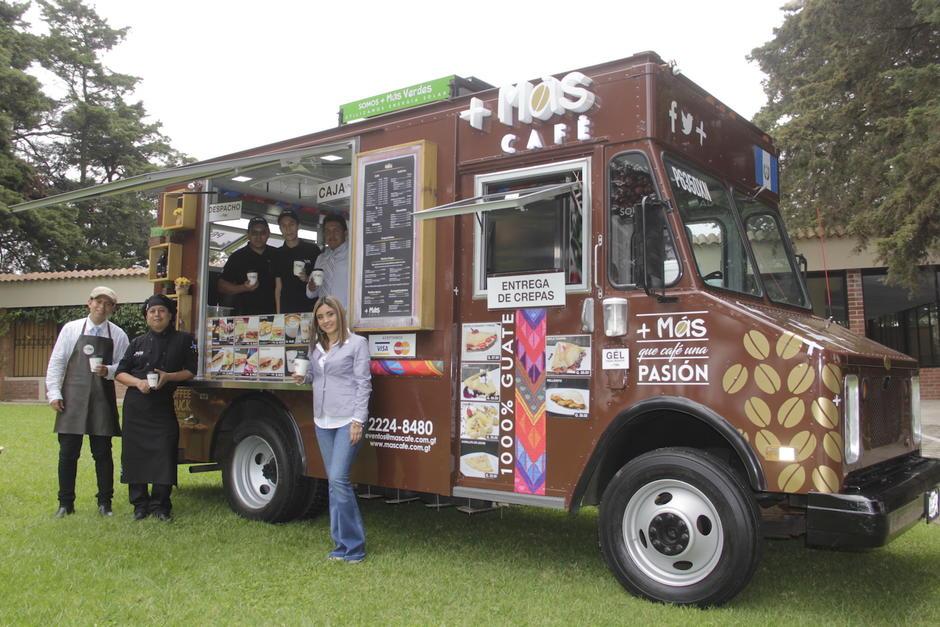 Más Café ha cambiado el estilo de los food trucks en Guatemala. (Foto: Nathaly Arbizú/Soy502)