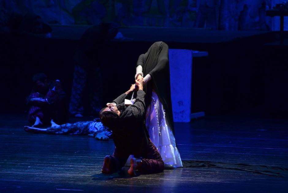 El Ballet Moderno y Folklórico la pone en escena a través de la danza. (Foto: Selene Mejía/Soy502)